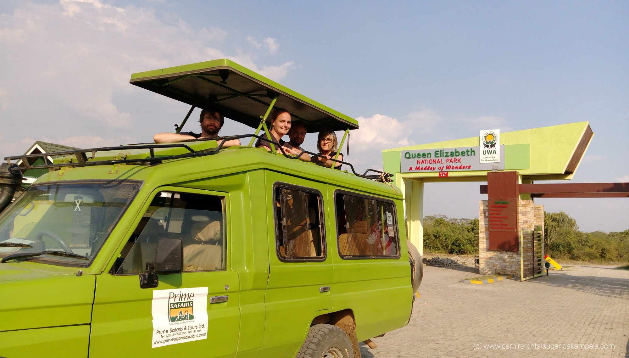 5 important tips for Uganda safari self-drive car hire